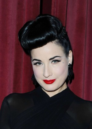 Dita Von Teese - Live Talk La at Crest Theatre in Westwood