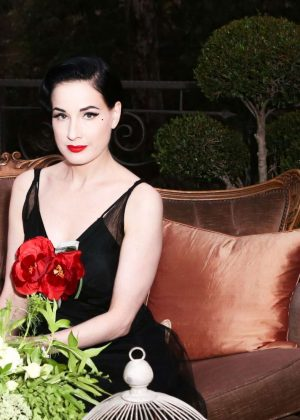 Dita Von Teese - Maison ST-Germain Event in Los Angeles