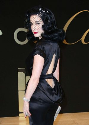 Dita Von Teese - 'Panthere de Cartier' Watch Launch in Los ...  Dita