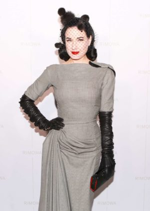 Dita Von Teese - Rimowa x Alexandre Arnault Pop-Up Event in LA