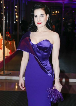 Dita Von Teese - Sidaction Gala Dinner 2015 in Paris