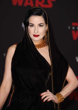 Dita Von Teese - 'Star Wars: The Last Jedi' Premiere in Los Angeles