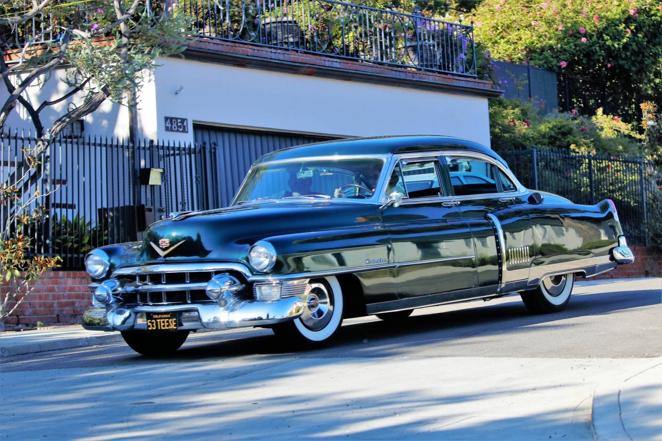 Dita Von Teese 2020 : Dita Von Teese – Takes her clean classic Chevy for a cruise in Los Angeles-05