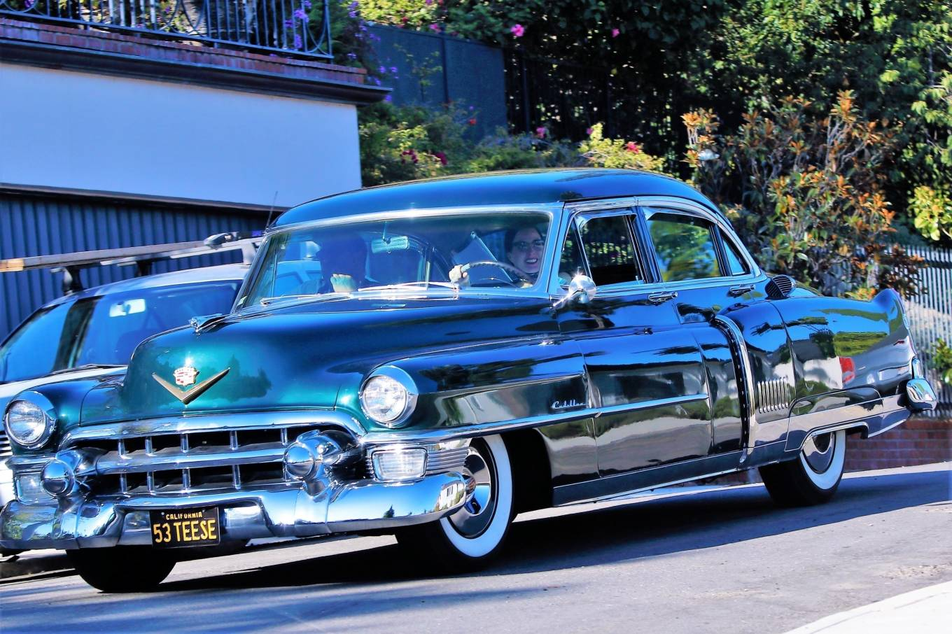 Dita Von Teese 2020 : Dita Von Teese – Takes her clean classic Chevy for a cruise in Los Angeles-06