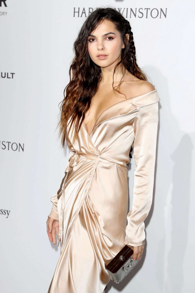 Doina Ciobanu - 2017 amfAR Gala Haute Couture Fashion Week in Paris