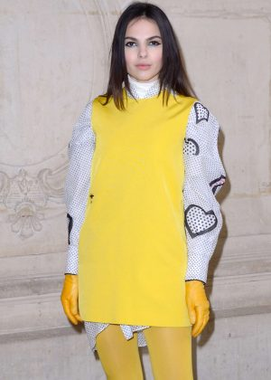 Doina Ciobanu - Arriving at Dior Fashion Show 2018 in Paris