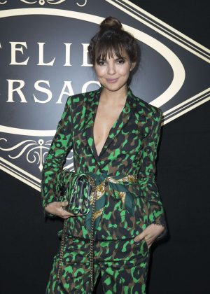 Doina Ciobanu - Atelier Versace Fashion Haute-Couture F/W 2016/2017 in Paris