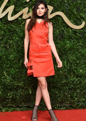 Doina Ciobanu - British Fashion Awards 2015 in London