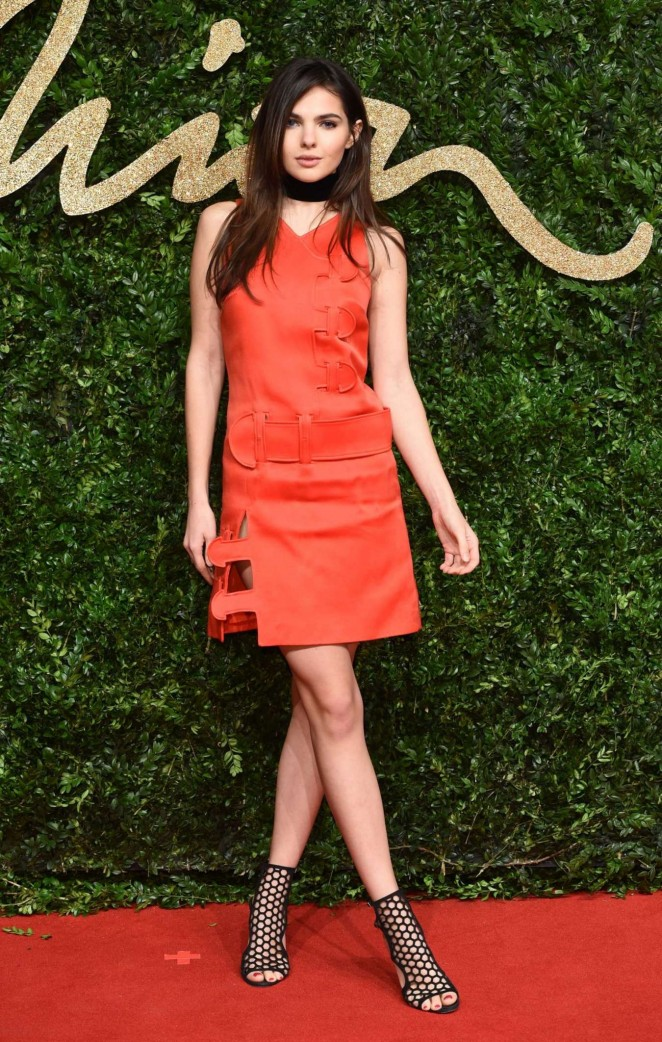 Doina Ciobanu - British Fashion Awards 2015 in London