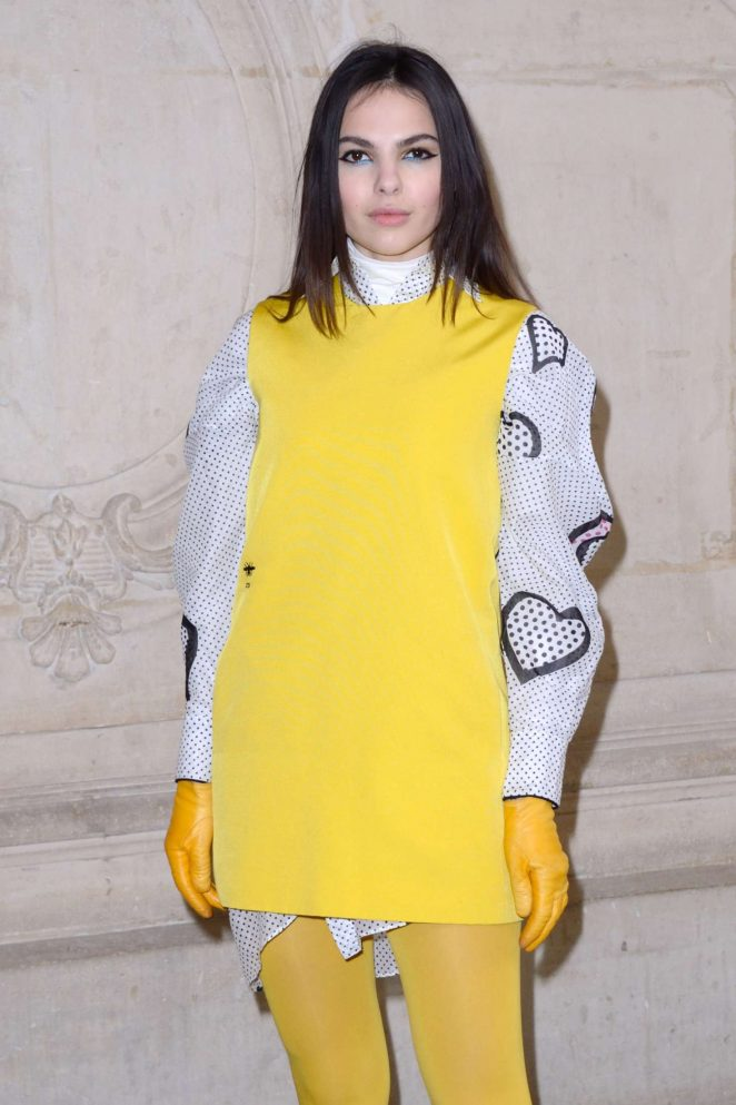Doina Ciobanu - Christian Dior Fashion Show 2018 in Paris