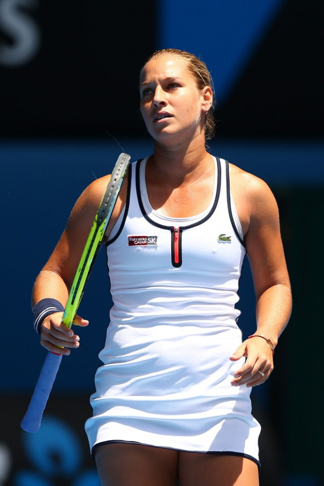 Dominika Cibulkova - 2015 Australian Open in Melbourne Day 10