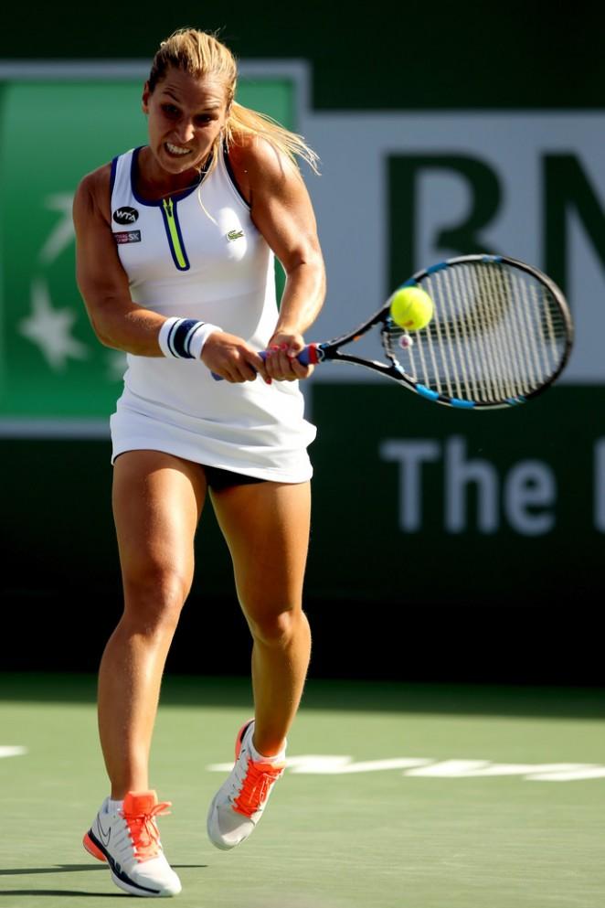 Dominika Cibulkova - BNP Paribas Open 2016 in Indian Wells