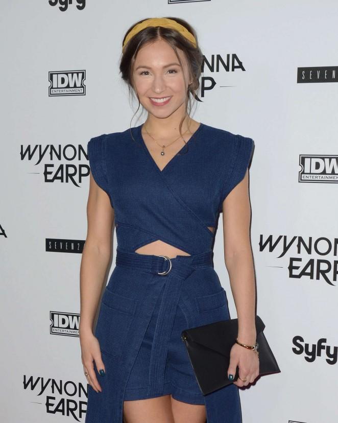 Dominique Provost-Chalkley - Wynonna Earp at WonderCon 2016 in LA