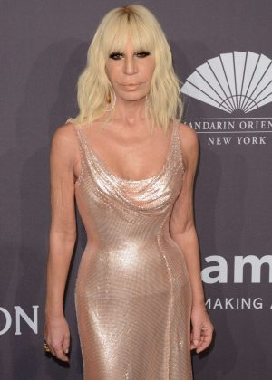 Donatella Versace - 2017 amfAR New York Gala in New York City