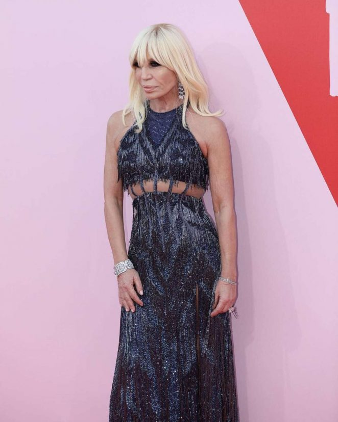 Donatella Versace - Fashion for Relief Charity Gala 2017 in Cannes