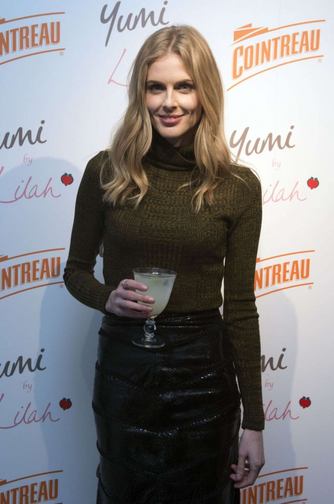 Donna Air - Cointreau Launch Party for Yumi By Lilah 2016 Collection in London