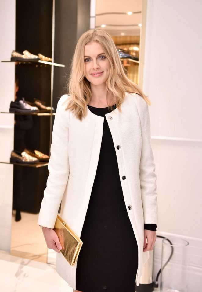 Donna Air - Giuseppe Zanotti Design Flagship Store Opening in London