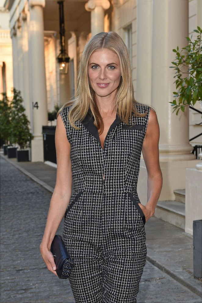 Donna Air - Mollie King & Magnum Pink & Black Launch Party in London