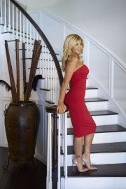 Donna D'Errico - At Her Home Photoshoot in Los Angeles