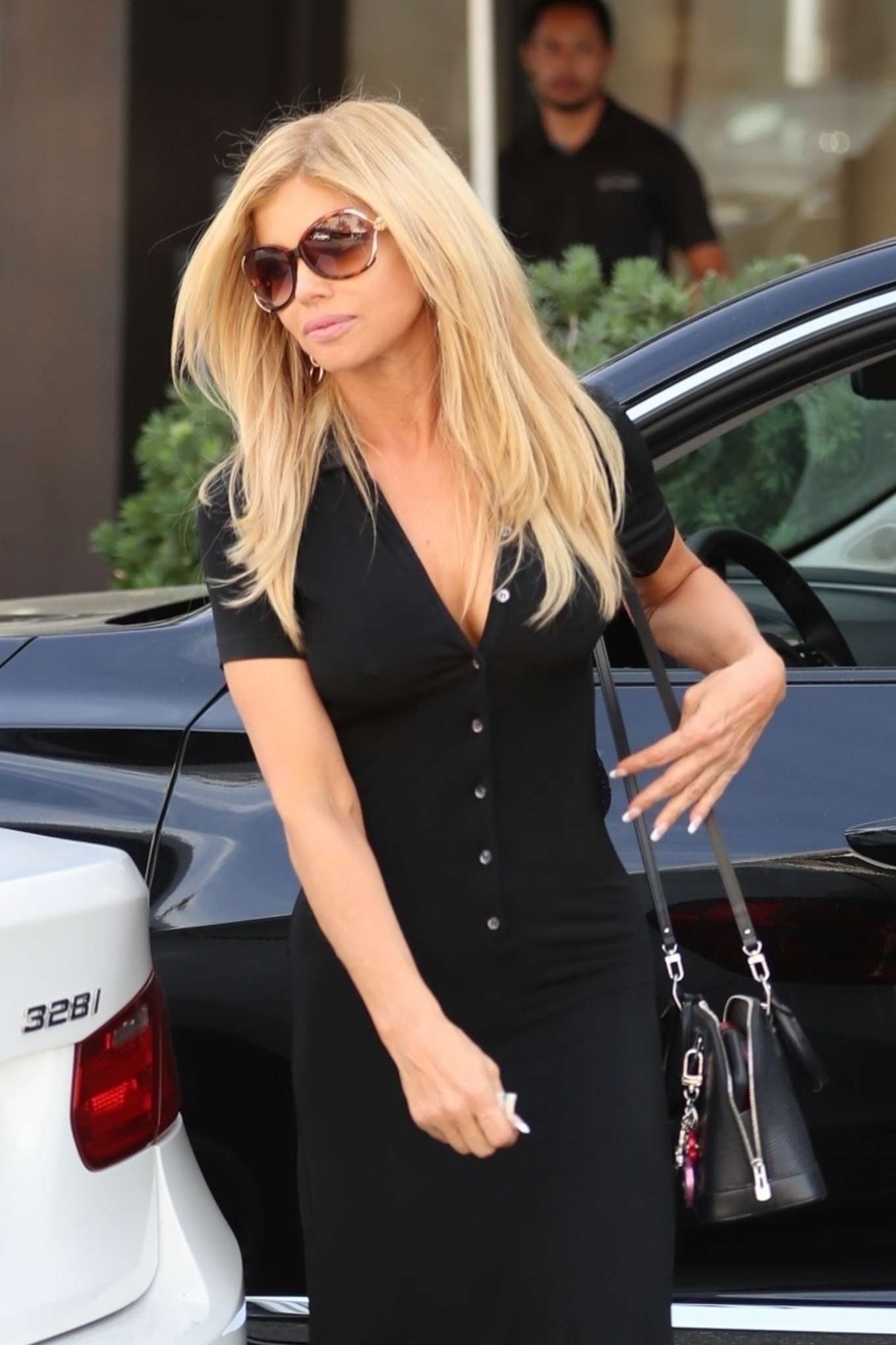 Donna D'Errico at Wally's Vinoteca in Beverly Hills