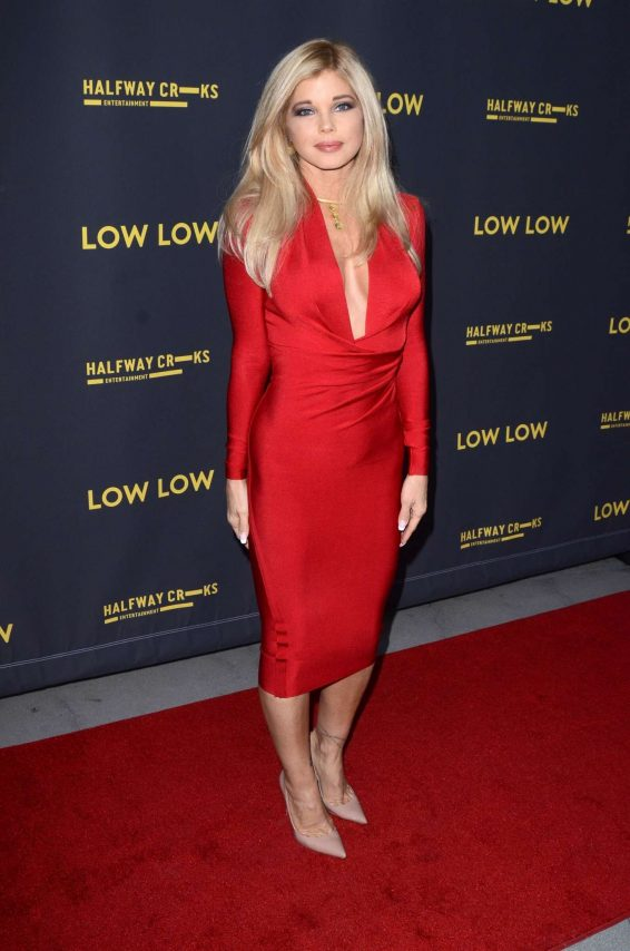 Donna D'Errico 2019 : Donna DErrico – Low Low premiere photocall at the ArcLight Hollywood in Los Angeles -11