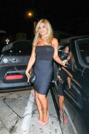 Donna D'Errico - Outside Craig's Restaurant in West Hollywood