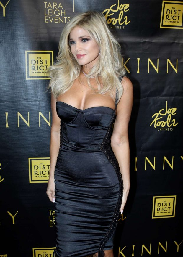Donna D'Errico - 'Skinny' Cannabis Vape Product Launch in West Hollywood