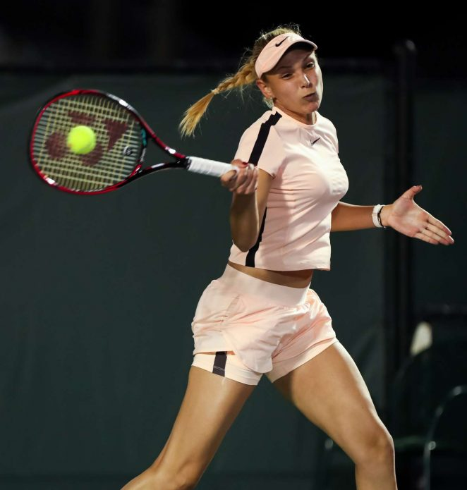 Donna Vekic - 2018 Miami Open in Key Biscayne