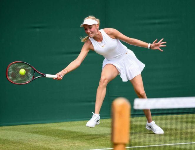Donna Vekic - 2018 Wimbledon Tennis Championships in London Day 3