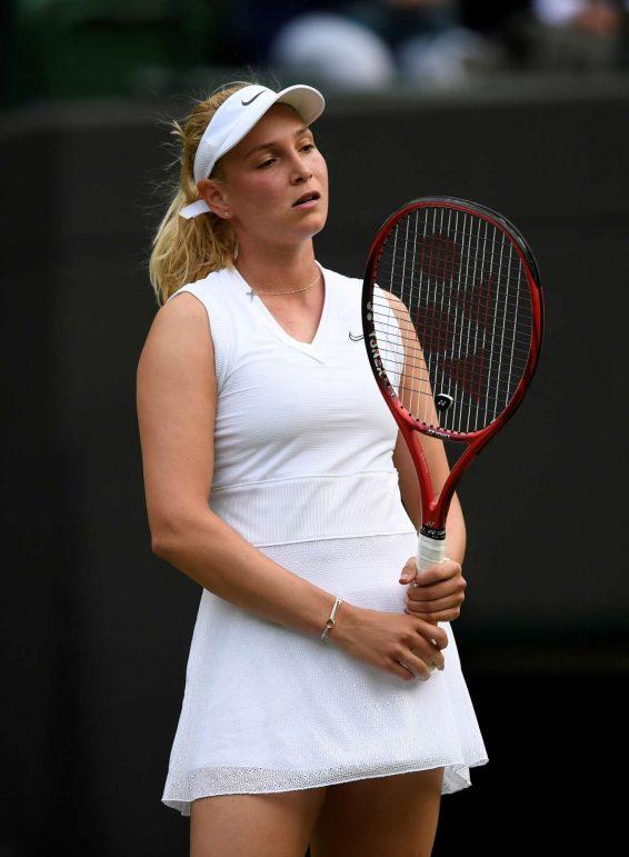 Donna Vekic - 2019 Wimbledon Tennis Championships in London