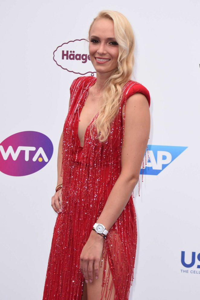 Donna Vekic - WTA Tennis On The Thames Evening Reception in London