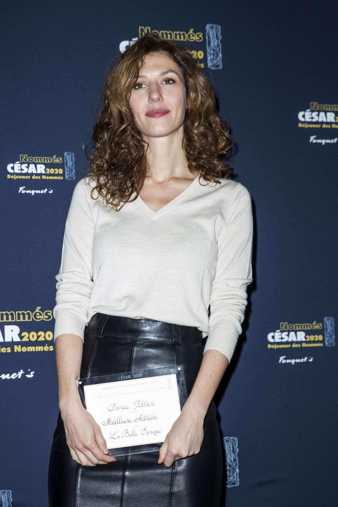Doria Tillier 2020 : Doria Tillier – Cesar 2020 Nominee Luncheon in Paris-05