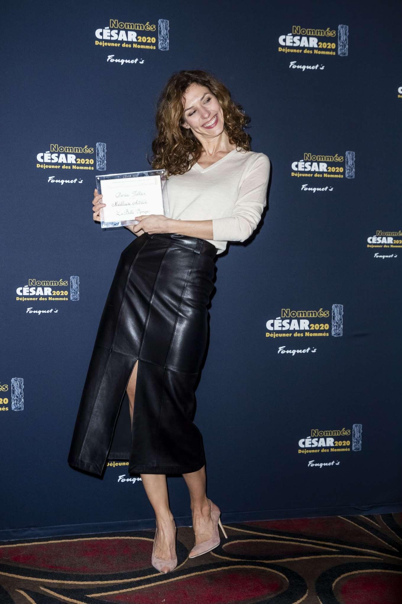 Doria Tillier 2020 : Doria Tillier – Cesar 2020 Nominee Luncheon in Paris-09