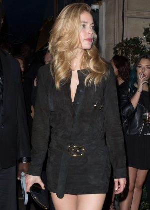Doutzen Kroes attend a L'Oreal Event in Paris