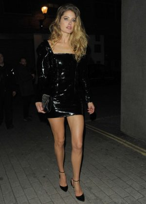 Doutzen Kroes - Attending Miuccia Prada Party in London