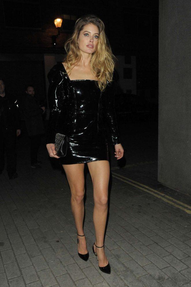 Doutzen Kroes - Attending Miuccia Prada Party in London