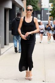 Doutzen Kroes - Attends Gabriela Hearst SS20 at NYFW in New York City