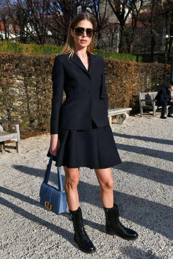 Doutzen Kroes - Attends the Dior Haute Couture SS 2020 Show in Paris