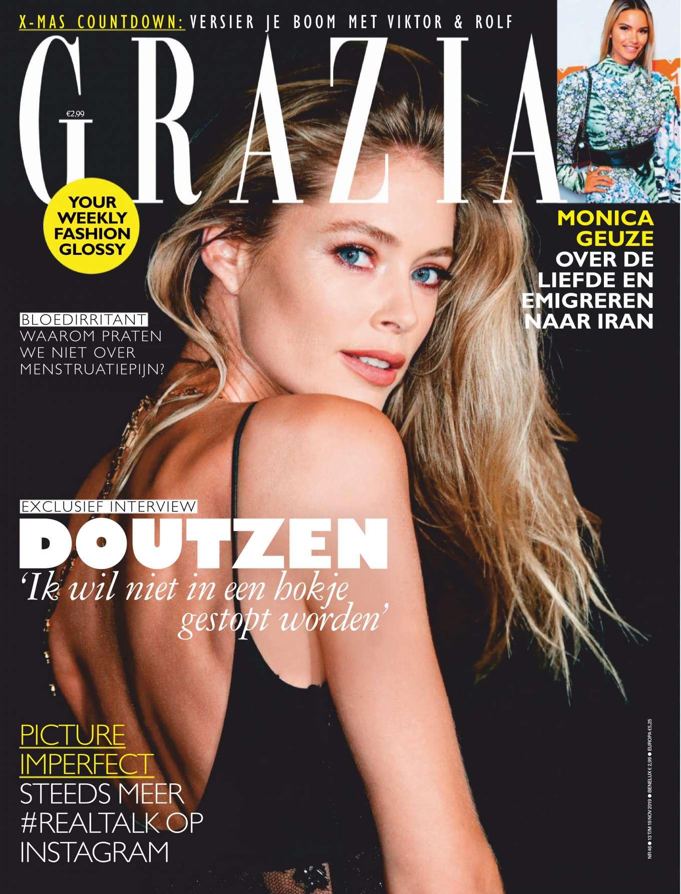 Doutzen Kroes - Grazia Netherlands Magazine (November 2019)
