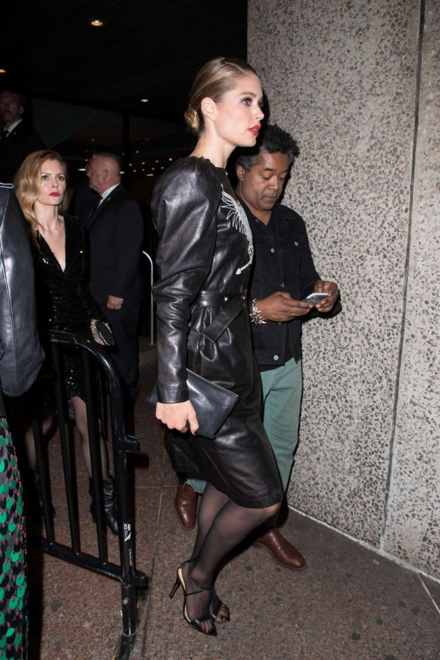 Doutzen Kroes - Gucci After Party at Met Gala in New York