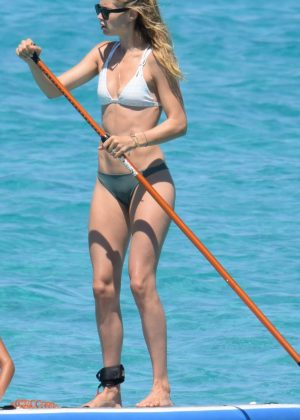 Doutzen Kroes in Bikini on holiday in Formentera