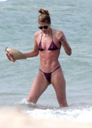 Doutzen Kroes in Bikini on the beach in Bahia Pic 2 of 35