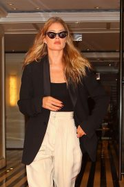 Doutzen Kroes - Leaving the Mark Hotel in New York
