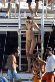 Doutzen Kroes - On a yacht in Ibiza