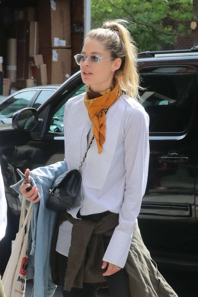 Doutzen Kroes - oOut and about in New York City