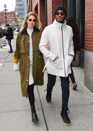 Doutzen Kroes out and about in New York