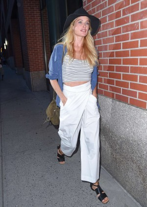 Doutzen Kroes - Out and about in NYC