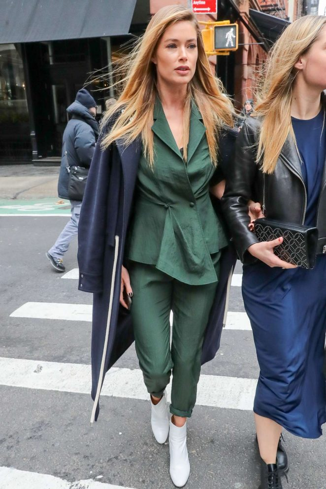 Doutzen Kroes - Out in New York City