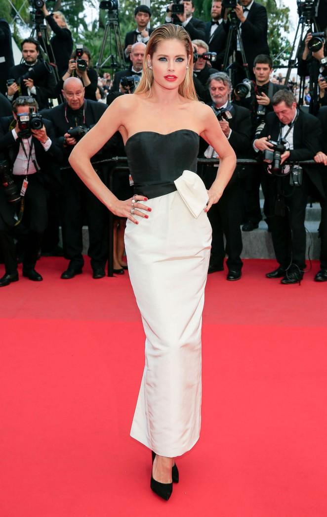 """Doutzen Kroes - """"Sicario"""" Premiere in Cannes"""