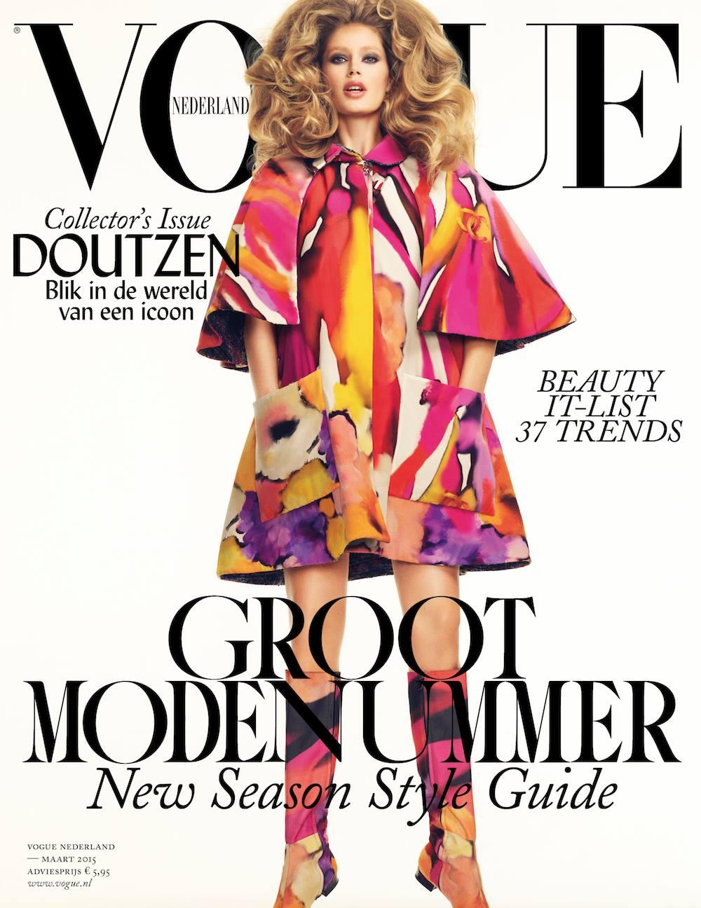 Doutzen Kroes: Vouge Magazine 2015 -02